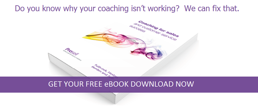 Sales Coaching eBook