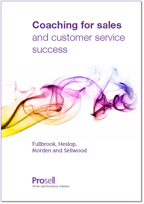 Coaching for sales and customer service success eBook
